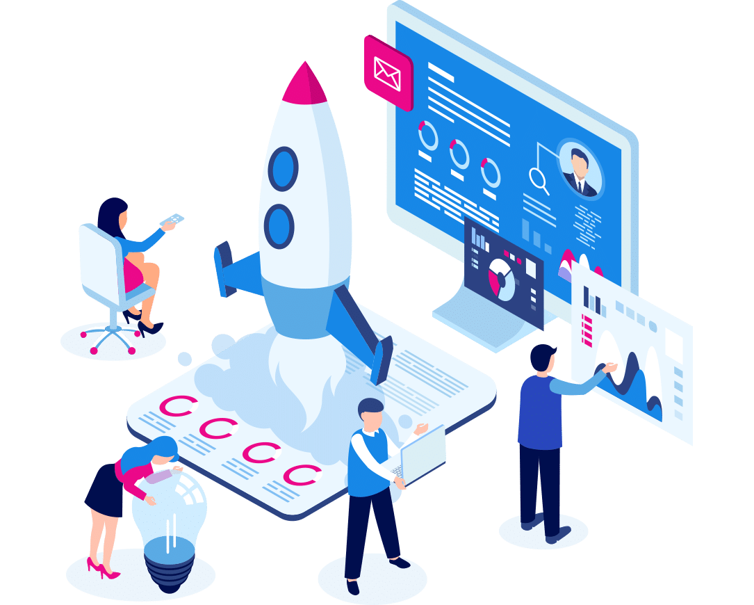 Agency hiring without the agency fee illustration